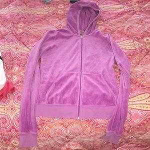 Juicy couture velour hoodie